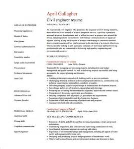 civil construction resume