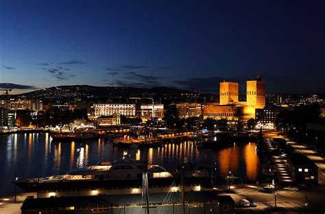 oslo  night    norwegian star shortly
