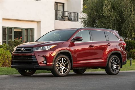 Toyota Highlander Motor by 2017 Toyota Highlander Reviews And Rating Motor Trend