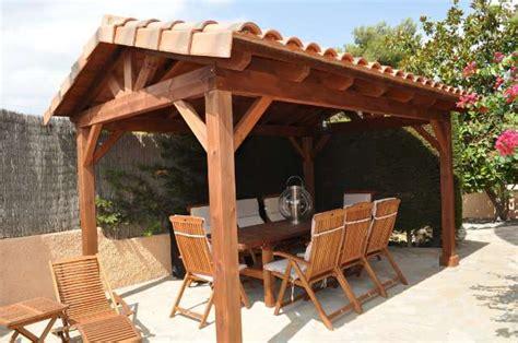 porche madera pergola madera cenador milanuncios