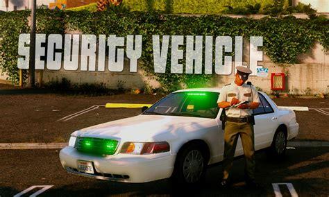 security crown victoria green lights gta modscom