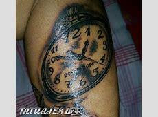 Reloj sombreado Tatuajes 123