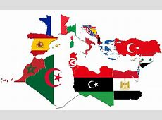 Mediterranean Countries FlagMap by CaptainVoda on DeviantArt