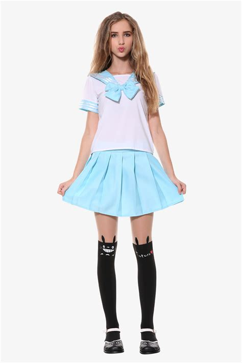 fashion sailor seifuku school uniformone pair  tight