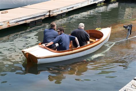 Electric Boat Ta by 2016 Herreshoff Electric Launch Power Boat For Sale Www