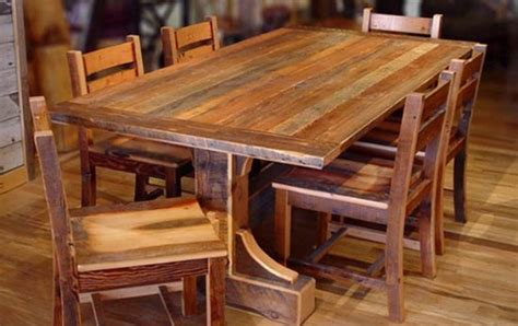 mesas de madera rusticas images