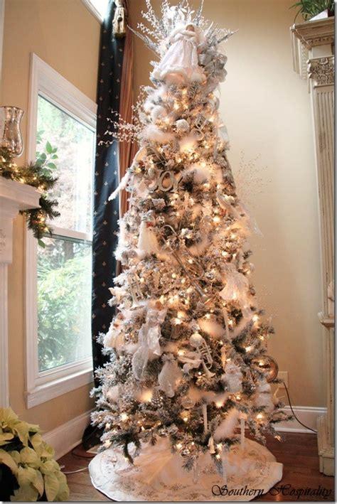 merry christmas  white  silver christmas tree