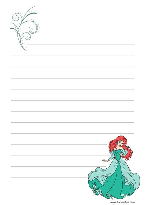 disneys   mermaid printables disneyclipscom