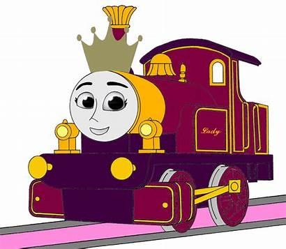 Thomas Lady Engine Tank Embarrassed Princess Friends