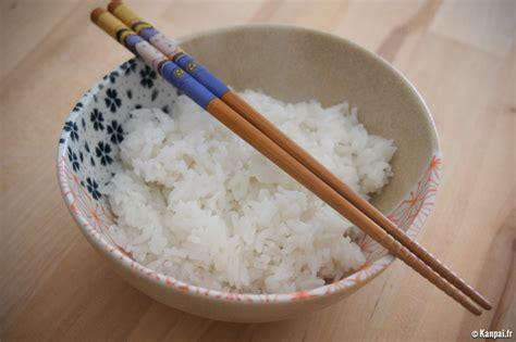 cuisine japonaise recette recette du riz japonais