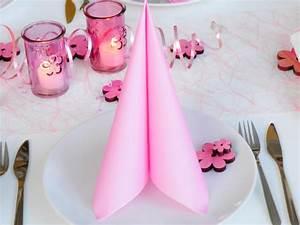 Tischdeko Shop De : ihr serviette rosa 40x40cm 12 st ck ~ Watch28wear.com Haus und Dekorationen