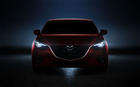 Mazda Car Wallpaper Hd by 2014 Mazda 3 Wallpaper Hd Car Wallpapers Id 3503