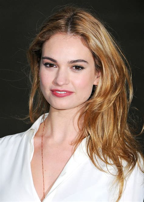 Lily James Reveals Her 5 Beauty and Fashion Obsessions ...