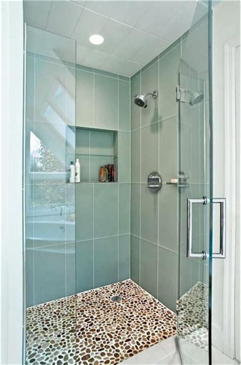 best 25 glass tile shower ideas on subway