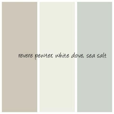 color pewter revere pewter white dove sea salt exterior paints