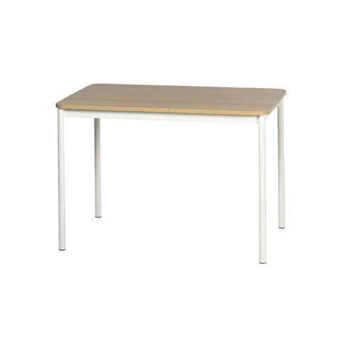 cuisine 馥s 60 table de cuisine basic 100 x 60 cm ep90 blanc achat vente table de cuisine table de cuisine basic 10 cdiscount