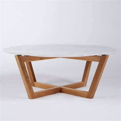round wood coffee table modern designer round italian marble coffee table oak