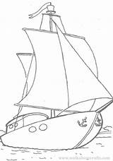 Yacht Coloring Pages Popular Colouring sketch template