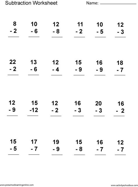 HD wallpapers first math worksheets