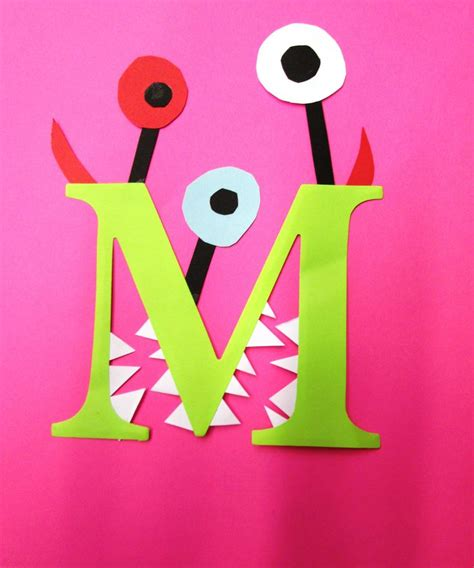 letter m crafts preschool and kindergarten 411 | alphabet letter m printable crafts for preschool