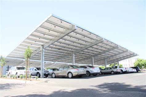 solar carports  spread   country  costs decline