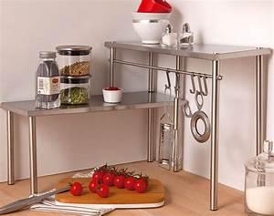 Petite étagère D Angle : etagere d 39 angle inox ~ Teatrodelosmanantiales.com Idées de Décoration
