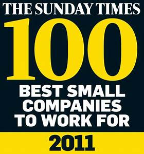 Sunday Times 100 Best Small Companies to Work For 2011