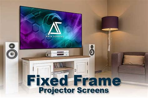 select  projection screen   home