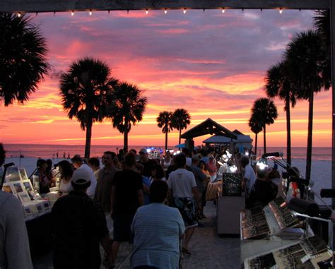 sunsets  pier  festival  clearwater fl