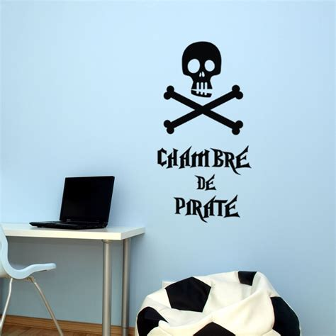 fabulous sticker chambre de pirate with dessin mural