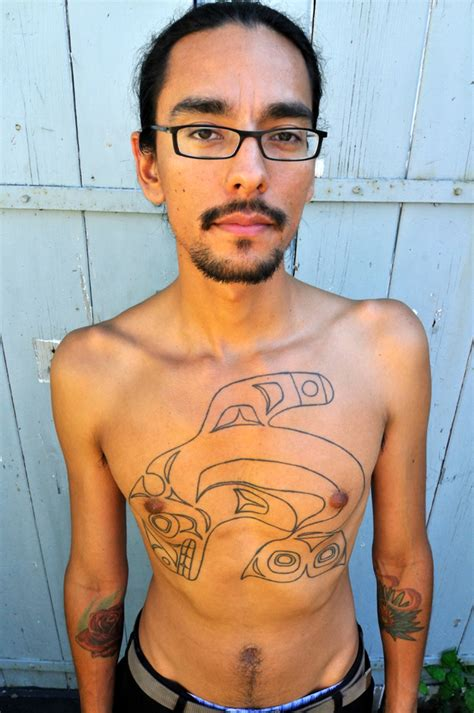 lars krutak tattoo traditions  native north america