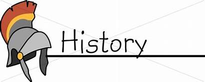 Subject History Geography English Word Subjects Clipart