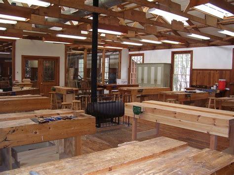 open truss ceilinginteresting workshop design