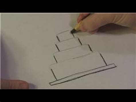 drawing lessons   draw wedding cakes youtube