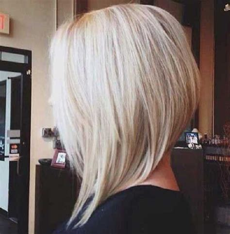 Best Ideas About Blonde Angled Bob Pinterest