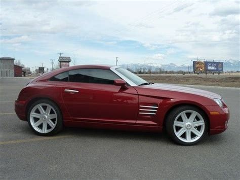 electronic stability control 2004 chrysler crossfire transmission control purchase used 2004 chrysler crossfire blaze red 6 speed coupe 7860 miles as new 04 08 in
