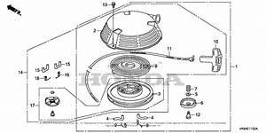 Honda Hrc216k3 Hxa Lawn Mower  Usa  Vin  Maka