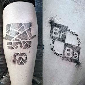 50 Breaking Bad Tattoo Designs For Men - Walter White Ink ...