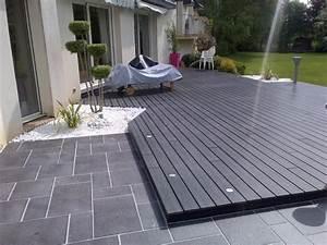 nivremcom terrasse exterieure bois ou carrelage With terrasse en bois ou carrelage
