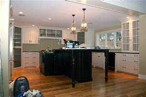 Hanging kitchen lights over island design information