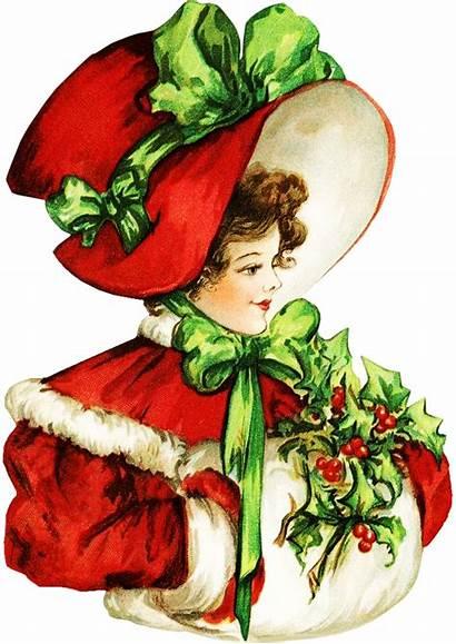Victorian Winter Clipart Snowman Clip Transparent Banner