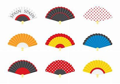 Spanish Fan Vector Clipart Graphics Vectors Edit