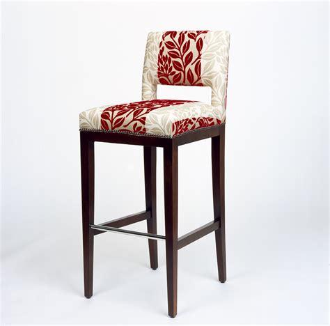 upholstered bar stools with backs homesfeed