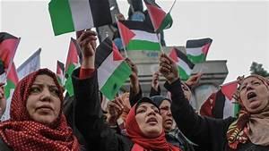 Gazans protest Trump's plan for Jerusalem recognition