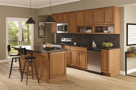 Quality Kitchen Cabinets by Quality Cabinets Felix Cherry Amaretto Midwest Building