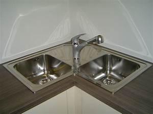 Meuble Evier D Angle : evier d 39 angle inox ~ Premium-room.com Idées de Décoration