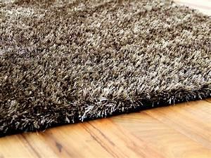 Shaggy Hochflor Teppich : hochflor shaggy teppich luxus feeling mix braun gold teppiche hochflor langflor teppiche braun ~ Markanthonyermac.com Haus und Dekorationen