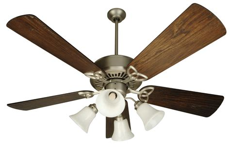 ceiling fan with uplight and craftmade sn52bn brushed nickel traditional indoor ceiling