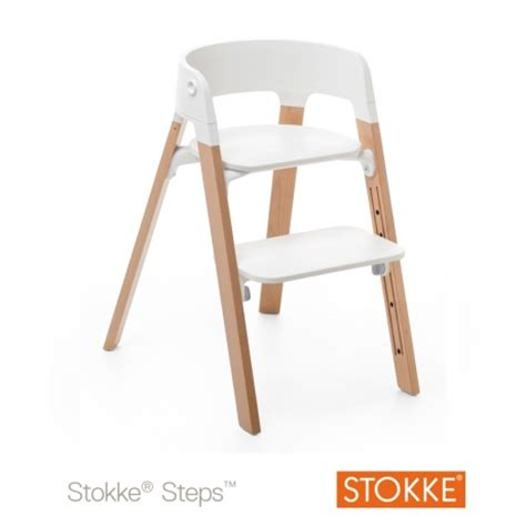 chaise steps stokke chaise haute transformable steps table de lit