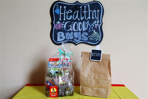 Healthy Goody Bags For Kids Parties Healthfully